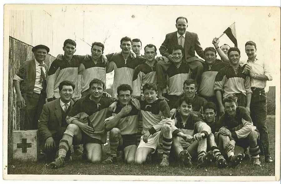 Porté en triomphe après le tire de 4ème série de 1960 qui récompense le retour du club après 7 ans de mise en sommeil